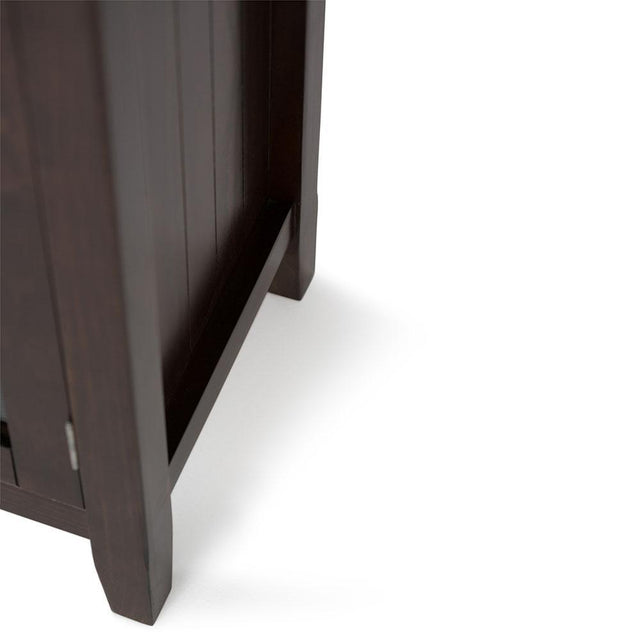 Load image into Gallery viewer, Brunette Brown | Acadian Tall TV Stand