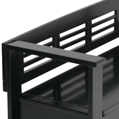 Black | Adams Entryway Bench
