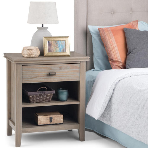 Distressed Grey | Artisan Bedside Table
