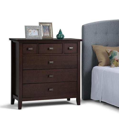 Russet Brown | Artisan 36 x 16.5 x 36 inch Chest of Drawers