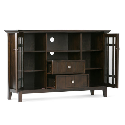 Tobacco Brown | Bedford Tall TV Stand