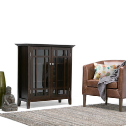 Dark Tobacco Brown | Bedford Medium Storage Cabinet