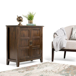 Mahogany Brown | Burlington Low Storage Cabinet