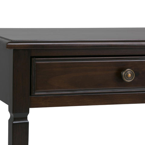 Dark Chestnut Brown | Connaught Console Sofa Table