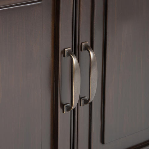 Dark Chestnut Brown | Connaught Entryway Storage Cabinet