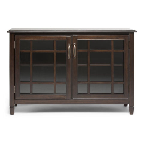 Dark Chestnut Brown | Connaught Low Storage Cabinet