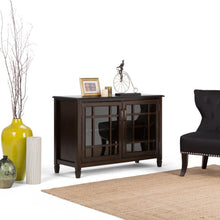 Load image into Gallery viewer, Connaught 46 x 17 x 31 inch Low Storage Cabinet in Dark Chestnut Brown