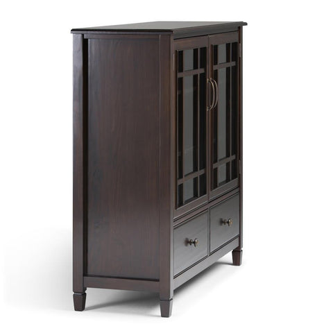 Dark Chestnut Brown | Connaught Tall Storage Cabinet