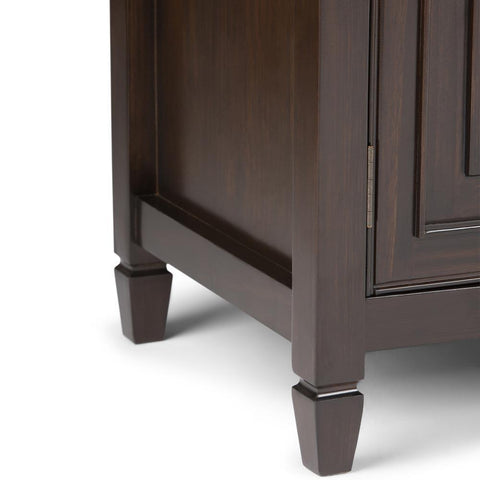Dark Chestnut Brown | Connaught Wide TV Stand