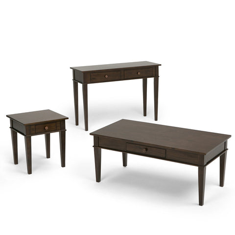 Tobacco Brown | Carlton Coffee Table