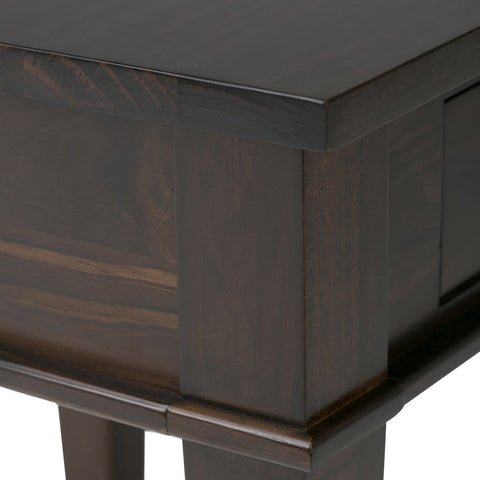 Tobacco Brown | Carlton 18 inch End Side Table
