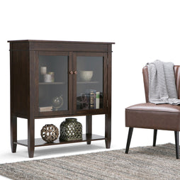 Tobacco Brown | Carlton Medium Storage Cabinet