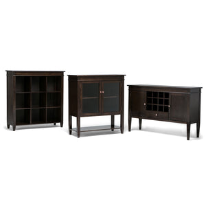 Tobacco Brown | Carlton Nine Cube Bookcase & Storage