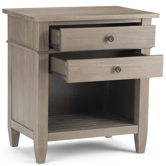 Load image into Gallery viewer, Distressed Grey | Carlton Bedside Table