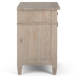 Distressed Grey | Carlton Bedside Table