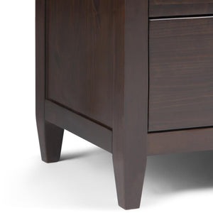 Carlton 58 x 18 x 36.6 inch Dresser in Tobacco Brown