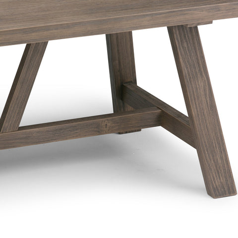 Driftwood Finish | Dylan 48 inch Coffee Table