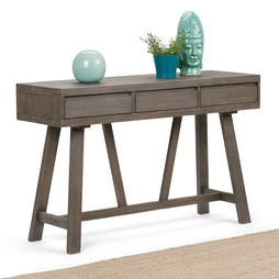Driftwood Finish | Dylan 48 x 15 inch Hallway Console Table