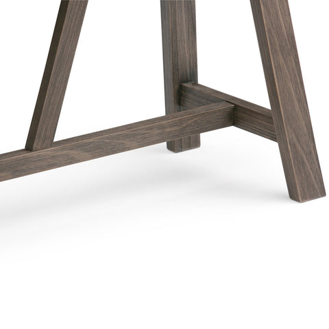 ... Driftwood Finish | Dylan 50 Inch Console Sofa Table ...