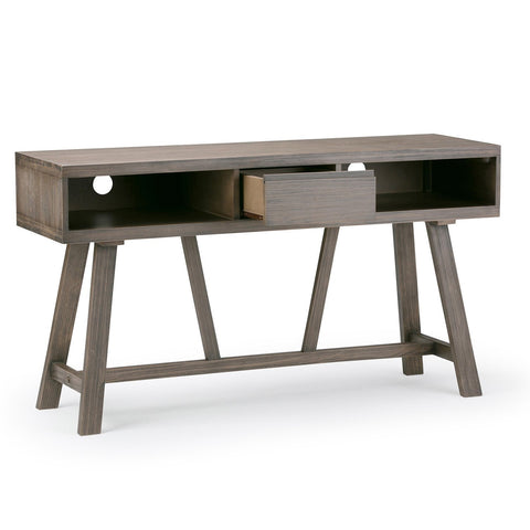 Driftwood Finish | Dylan 54 inch TV Media Stand