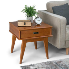 Load image into Gallery viewer, Teak Brown | Draper Mid Century End Table