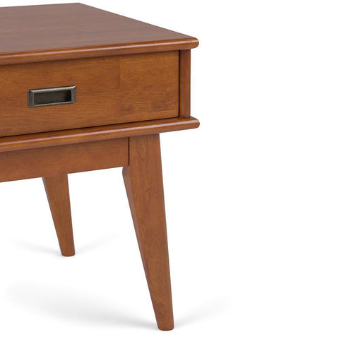 Teak Brown | Draper Mid Century End Table