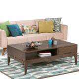 Walnut Brown | Harper 52 inch Coffee Table