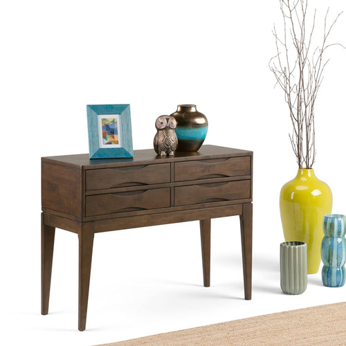 Walnut Brown | Harper 40 x 15 inch Hallway Console Table