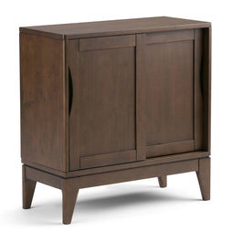 Walnut Brown | Harper 30 inch Low Storage Cabinet