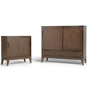 Walnut Brown | Harper 48 inch Medium Storage Cabinet