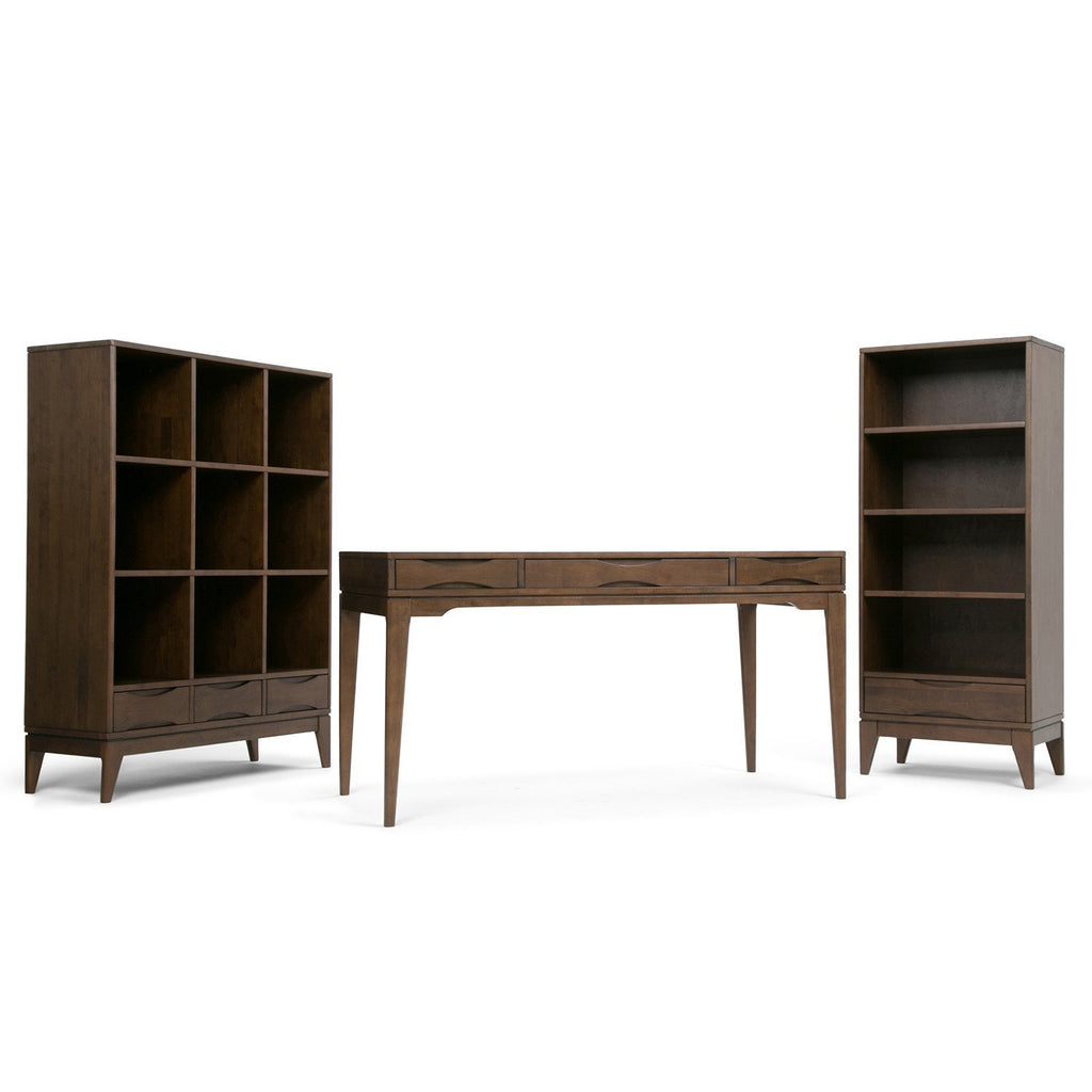 Exceptional ... Walnut Brown | Harper 58 X 42 Inch Cube Storage With Drawers ...