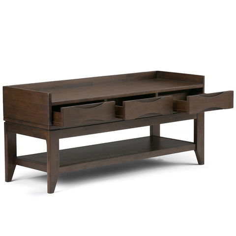 Walnut Brown | Harper 48 inch Entryway Bench