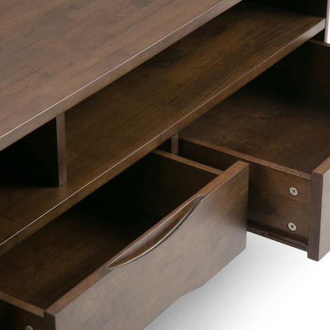 Walnut Brown | Harper 60 inch TV Media Stand