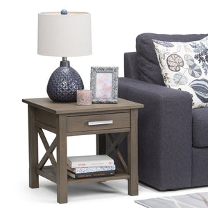 Farmhouse Grey | Kitchener 20.5 inch End Side Table