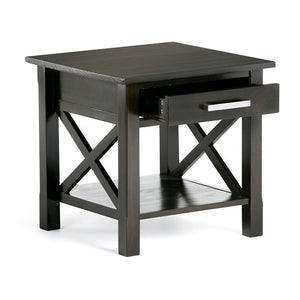 Hickory Brown | Kitchener 20.5 inch End Side Table