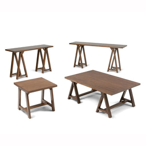 Sawhorse 48 inch Coffee Table
