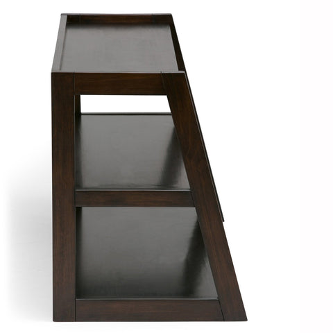 Dark Chestnut Brown | Sawhorse 48 inch TV Stand