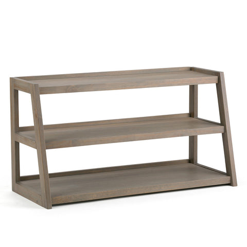 Distressed Grey | Sawhorse 48 inch TV Media Stand