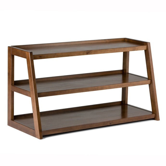 Medium Saddle Brown | Sawhorse 48 inch TV Stand