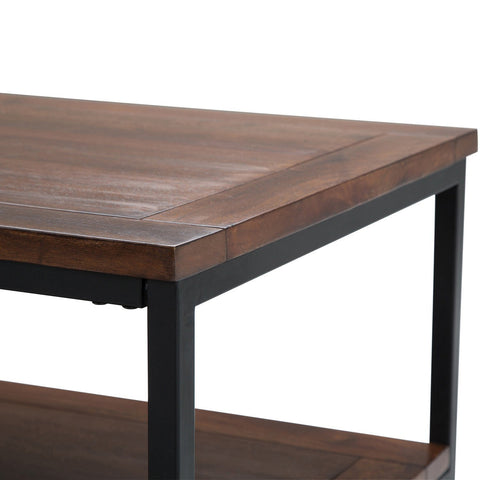 Dark Cognac Brown | Skyler 48 inch Coffee Table