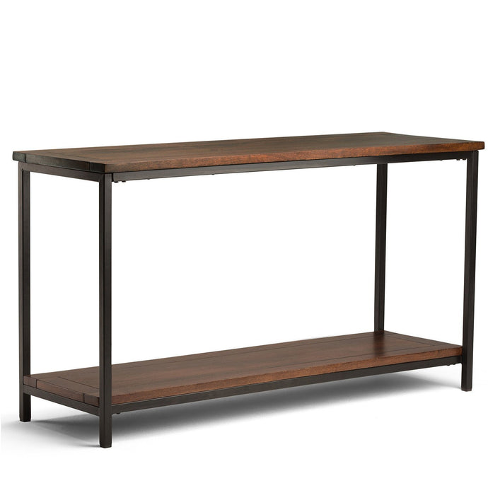 Dark Cognac Brown | Skyler 54 inch Console Sofa Table