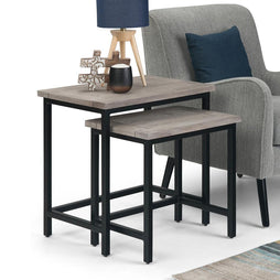Birch | Skyler Nesting 2 Pc Side Table