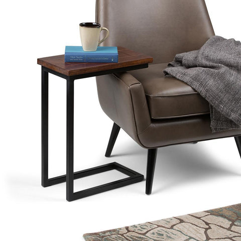 Dark Cognac Brown | Skyler C Side Table