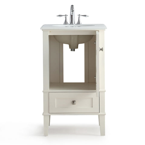 Soft White | Paige Bath Vanity