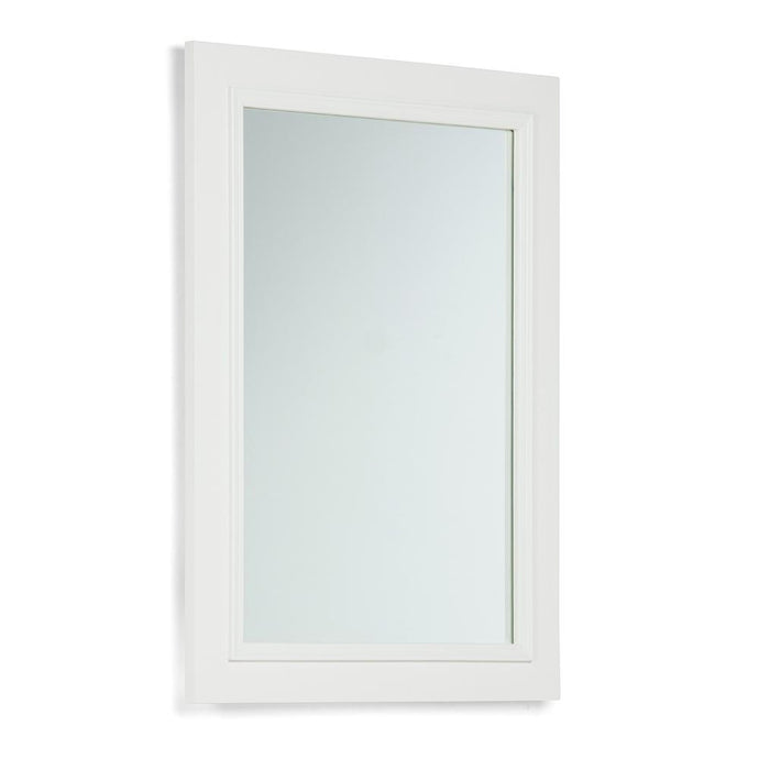 Standard White | Cambridge 22 x 30 inch Bath Vanity Decor Mirror