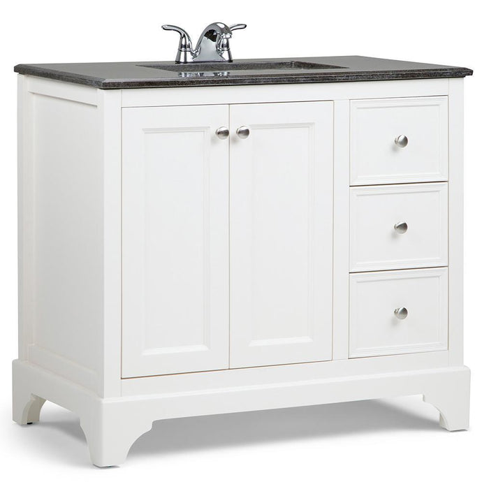36 inch | Cambridge Soft White Bath Vanity
