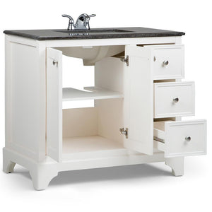 36 inch | Cambridge Off White Bath Vanity