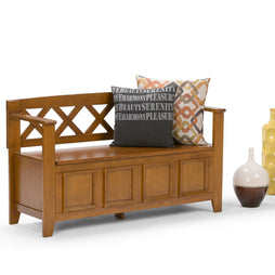 Light Avalon Brown | Amherst Entryway Bench