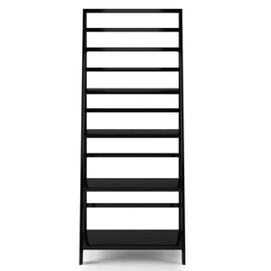 Black | Acadian 72 x 30 inch Bookcase