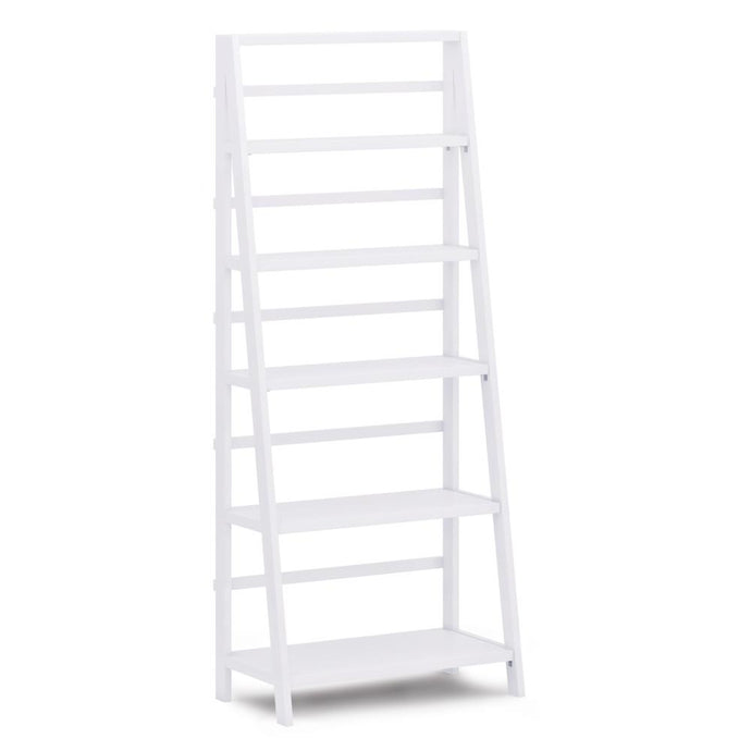 White | Acadian 72 x 30 inch Bookcase